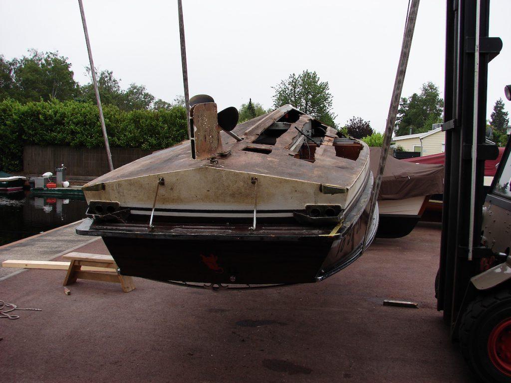 Boot onderhoud en reparatie