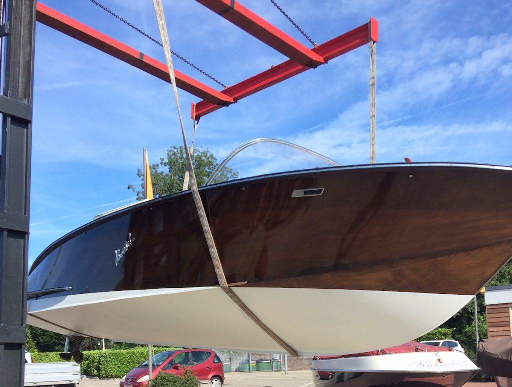 Restauratie en onderhoud boot